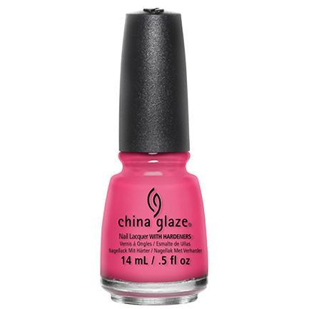 China Glaze - Shocking Pink 0.5 oz - #70293-Beyond Polish