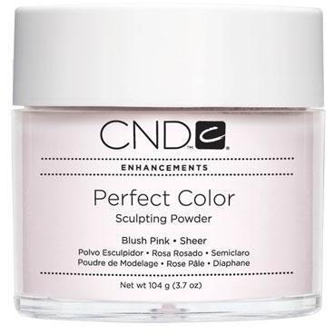 CND - Perfect Color Powder - Blush Pink - Sheer 3.7 oz-Beyond Polish