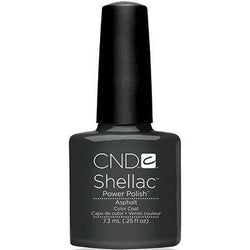 CND - Shellac Asphalt (0.25 oz)-Beyond Polish
