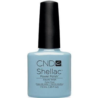 CND - Shellac Azure Wish (0.25 oz)-Beyond Polish