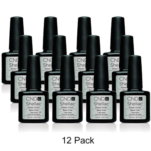 CND Shellac - Base Coat - 12 Pack 0.5 oz-Beyond Polish