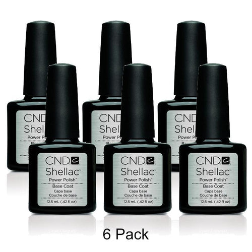 CND Shellac - Base Coat - 6 Pack 0.5 oz-Beyond Polish