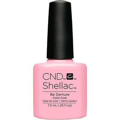 CND - Shellac Be Demure (0.25 oz)-Beyond Polish