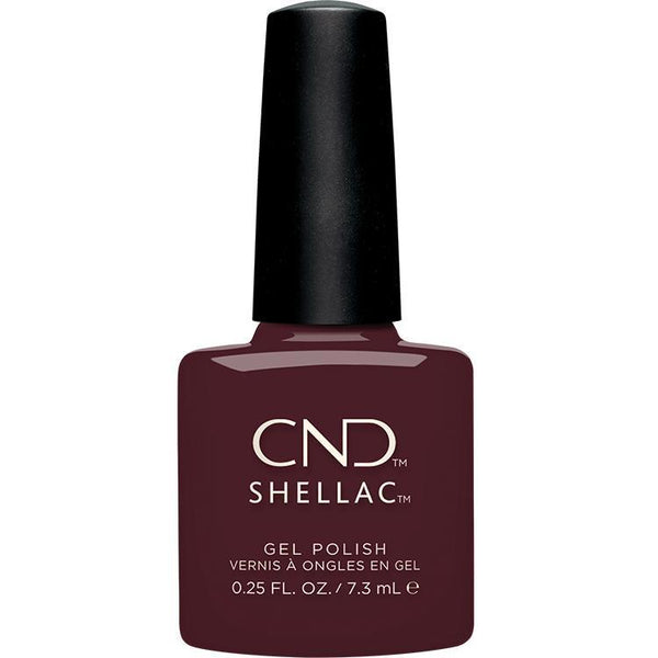 CND - Shellac Black Cherry (0.25 oz)-Beyond Polish
