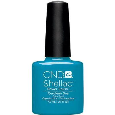 CND - Shellac Cerulean Sea (0.25 oz)-Beyond Polish