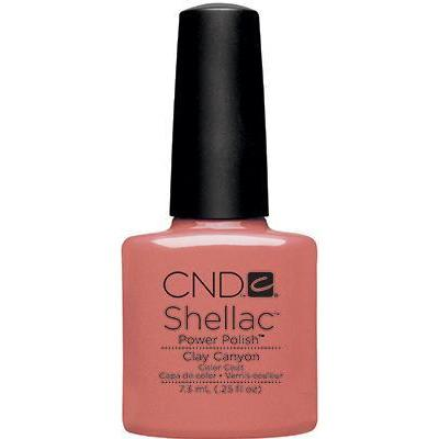CND - Shellac Clay Canyon (0.25 OZ)-Beyond Polish
