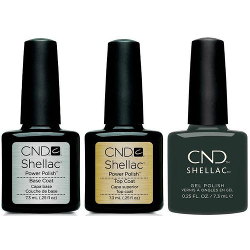 CND - Shellac Combo - Base, Top & Aura-Beyond Polish