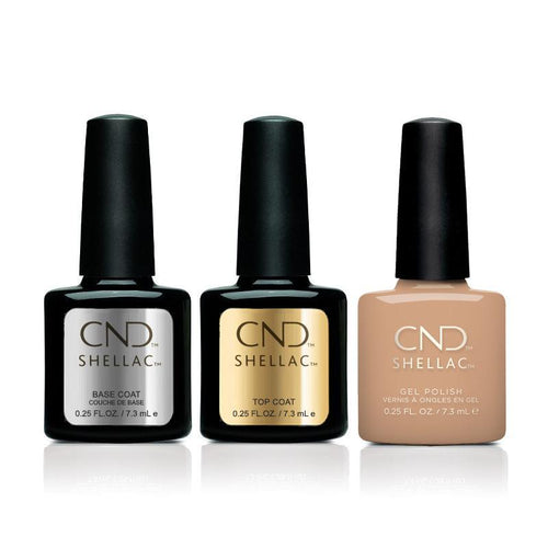 CND - Shellac Combo - Base, Top & Brimstone-Beyond Polish