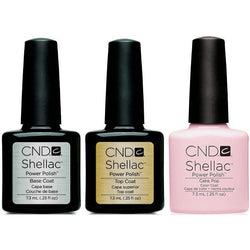 CND - Shellac Combo - Base, Top & Cake Pop-Beyond Polish