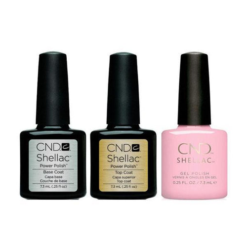 CND - Shellac Combo - Base, Top & Candied-Beyond Polish