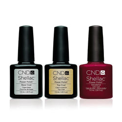 CND - Shellac Combo - Base, Top & Decadence-Beyond Polish