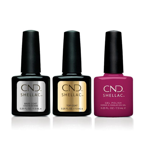 CND - Shellac Combo - Base, Top & Dreamcatcher-Beyond Polish