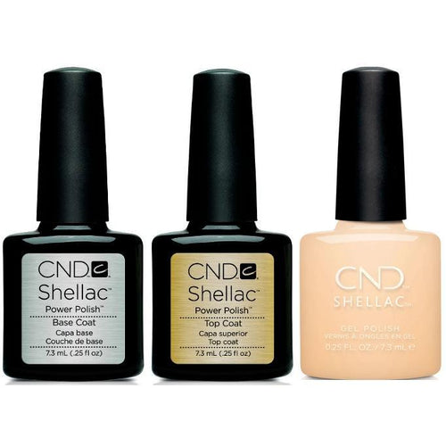 CND - Shellac Combo - Base, Top & Exquisite-Beyond Polish