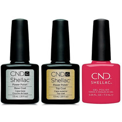 CND - Shellac Combo - Base, Top & Femme Fatale-Beyond Polish