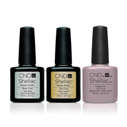 CND - Shellac Combo - Base, Top & Field Fox-Beyond Polish
