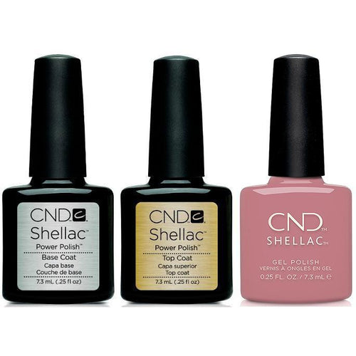 CND - Shellac Combo - Base, Top & Fuji Love-Beyond Polish