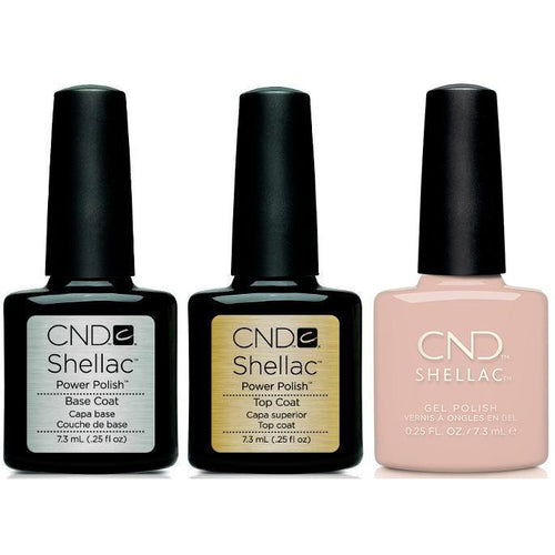 CND - Shellac Combo - Base, Top & Gala Girl-Beyond Polish
