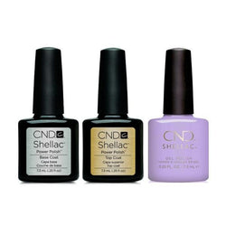 CND - Shellac Combo - Base, Top & Gummi-Beyond Polish