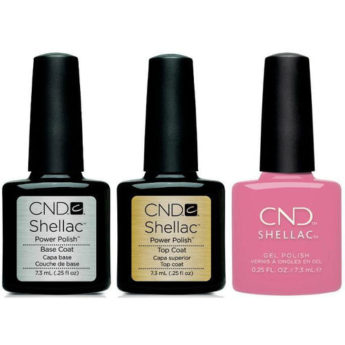 CND - Shellac Combo - Base, Top & Holographic-Beyond Polish