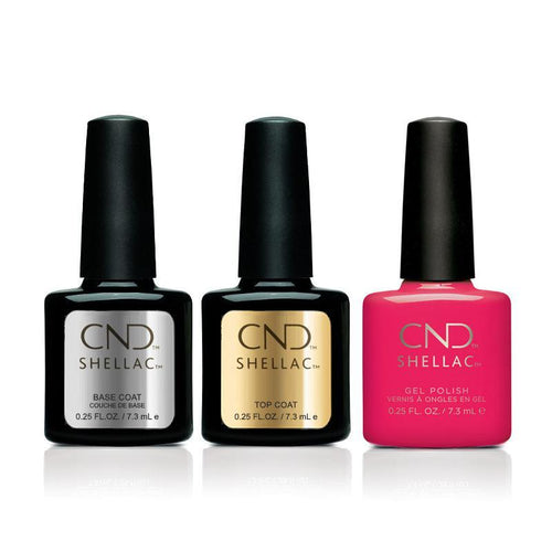CND - Shellac Combo - Base, Top & Offbeat-Beyond Polish
