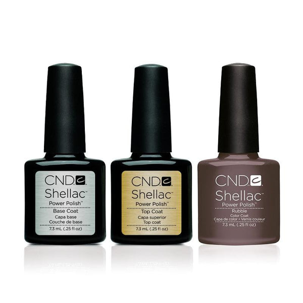 CND - Shellac Combo - Base, Top & Rubble-Beyond Polish