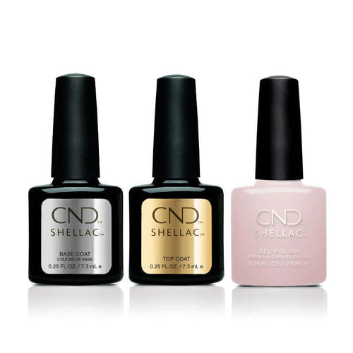CND - Shellac Combo - Base, Top & Soiree Strut-Beyond Polish