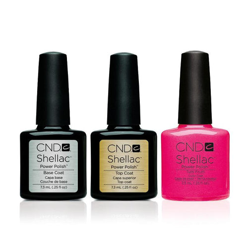CND - Shellac Combo - Base, Top & Tutti Frutti-Beyond Polish