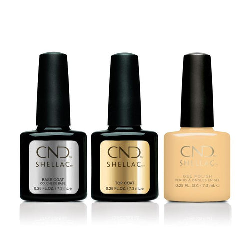 CND - Shellac Combo - Base, Top & Vagabond-Beyond Polish