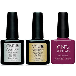 CND - Shellac Combo - Base, Top & Vivant-Beyond Polish