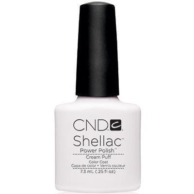 CND - Shellac Cream Puff (0.25 oz)-Beyond Polish