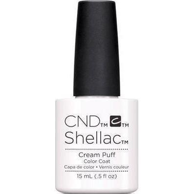 CND - Shellac Cream Puff 0.5 oz-Beyond Polish