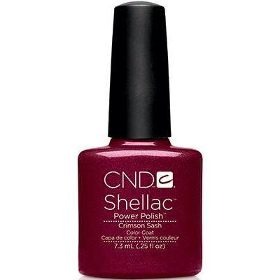 CND - Shellac Crimson Sash (0.25 oz)-Beyond Polish