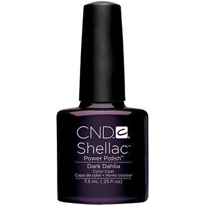 CND - Shellac Dark Dahlia (0.25 oz)-Beyond Polish