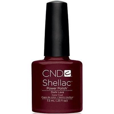 CND - Shellac Dark Lava (0.25 oz)-Beyond Polish
