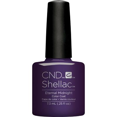 CND - Shellac Eternal Midnight (0.25 oz)-Beyond Polish