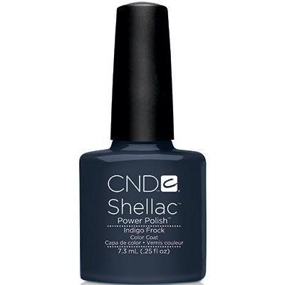 CND - Shellac Indigo Frock (0.25 oz)-Beyond Polish