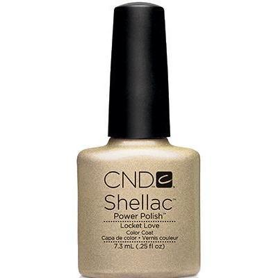 CND - Shellac Locket Love (0.25 oz)-Beyond Polish