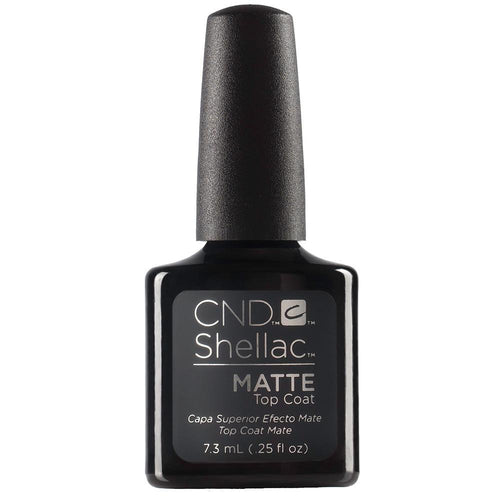 CND Shellac - Matte Top Coat 0.25 oz-Beyond Polish