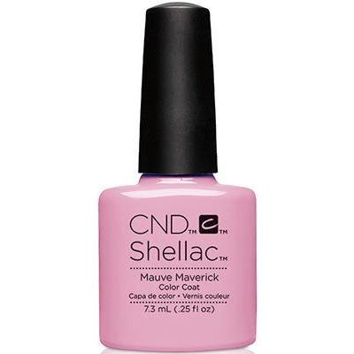 CND - Shellac Mauve Maverick (0.25 oz)-Beyond Polish