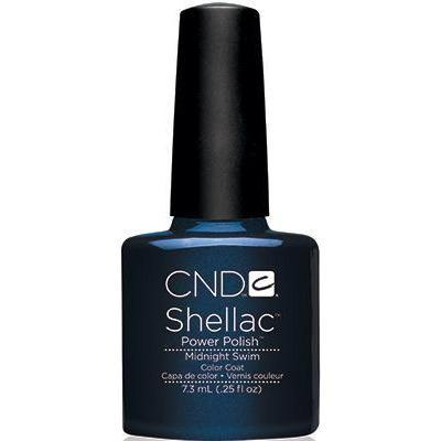 CND - Shellac Midnight Swim (0.25 oz)-Beyond Polish