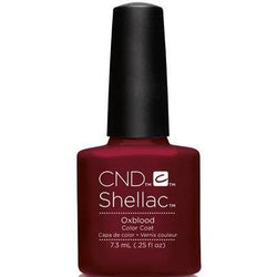 CND - Shellac Oxblood (0.25 oz)-Beyond Polish