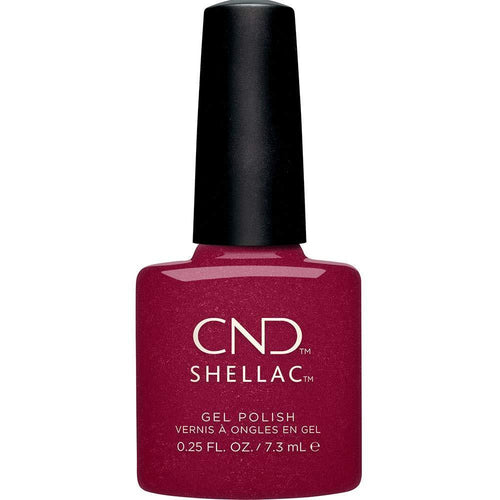 CND - Shellac Rebellious Ruby (0.25 oz)-Beyond Polish