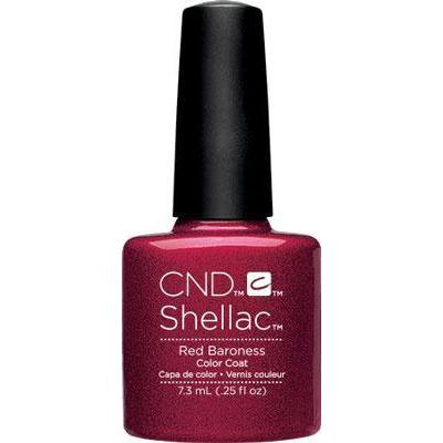 CND - Shellac Red Baroness (0.25 oz)-Beyond Polish