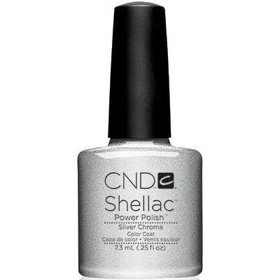 CND - Shellac Silver Chrome (0.25 oz)-Beyond Polish