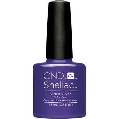 CND - Shellac Video Violet (0.25 oz)-Beyond Polish