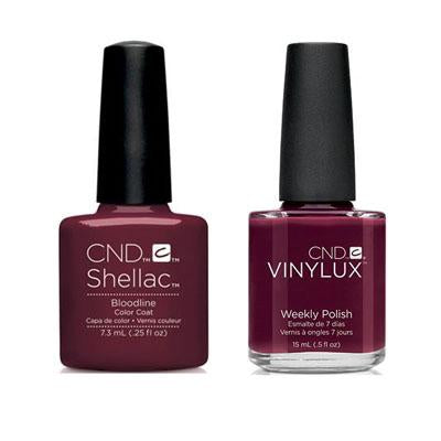 CND - Shellac & Vinylux Combo - Bloodline-Beyond Polish