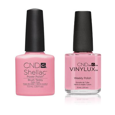 CND - Shellac & Vinylux Combo - Blush Teddy-Beyond Polish