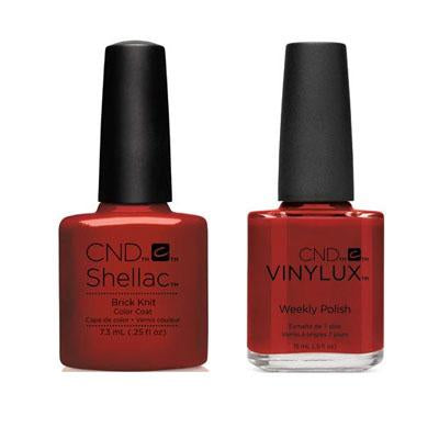 CND - Shellac & Vinylux Combo - Brick Knit-Beyond Polish