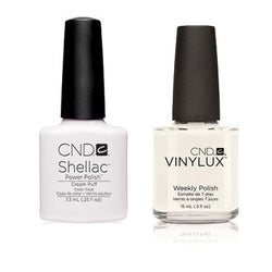 CND - Shellac & Vinylux Combo - Cream Puff-Beyond Polish