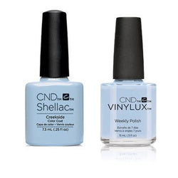 CND - Shellac & Vinylux Combo - Creekside-Beyond Polish